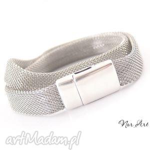 bransoletki bransoleka magnu, metal, cyna, magnes biżuteria