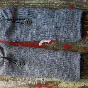 ręcznie wykonane rękawiczki mitenki żulki