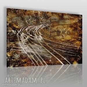 obraz na płótnie - abstrakcja 120x80 cm 03401, abstrakcja, nowoczesny