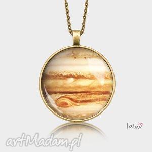 Prezent Medalion okrągły JOWISZ, planety, kosmos, wszechświat, grafika, gwiazdy