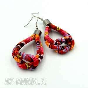 prezent na święta, kolczyki boho peroo knot, etniczne, styl