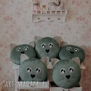 hand-made pokoik dziecka poduszka kotek jadeit