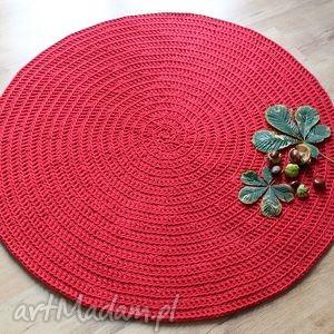 dywan red energy, dywan, dywanik, chodnik, bawełna