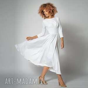 ines - suknia ślubna, klasyczna, elegancka