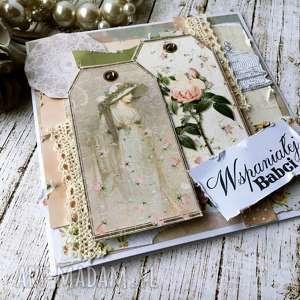 pomysł na prezenty święta Wspaniałej Babci Rerto, babcia, dzień, prezent, kartka