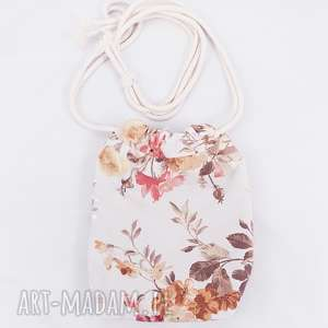 hand-made mini torebka sakiewka kwiaty vintage