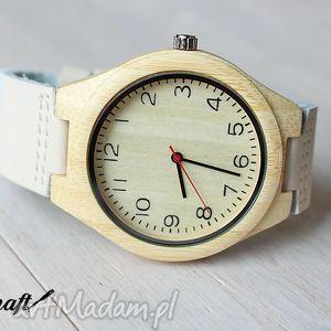 drewniany zegarek nordic, zegarek, drewniany, bambusowy, jasny, nordycki