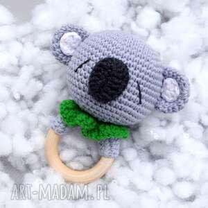 Grzechotka - gryzak koala zabawki b a o l grzechotka, gryzak