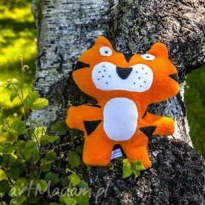 tygrys - zabawka, przytulanka, rękodzieło