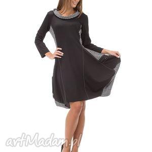 sukienki sukienka luźna na biodrach z kieszeniami rozmiar 42, luźna, dzianina