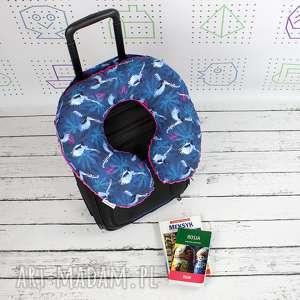 Prezent Poduszka Podróżna Nocne Ptaki, poduszka, podróżna, rogal, zagłówek, prezent