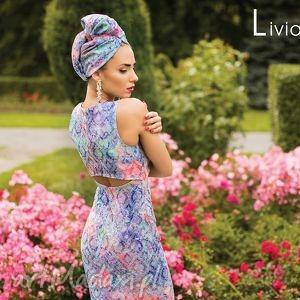sukienka mona mini tunesja, turecka, plecy, ołówkowa, dopasowana, orientalna