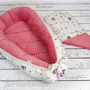 Kokon gniazdo dla niemowlaka bohemian friends dziecka nuvaart