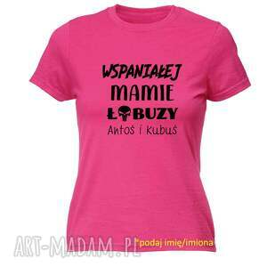 koszulki koszulka z nadrukiem dla mamy, prezent najlepsza mama, dzień