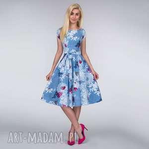 ręcznie wykonane sukienki sukienka marie midi bonita