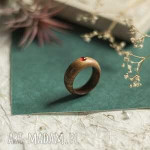 pierścionek z karneolem