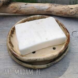 ceramika ceramiczna mydelniczka c247, mydelniczka, na mydło, kamionka