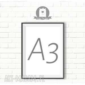 PLAKAT A3 - dowolny z naszych wzorów, plakat, obrazek, a3, format, pojedynczy