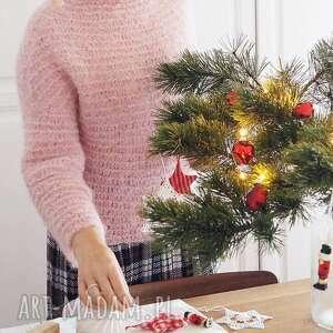 swetry pół-golf, sweter, lekki, alpaka, dziergany, wełniany