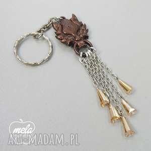 0407 mela brelok do kluczy z żywicy - łańcuszki, brelok, kluczy, żywica