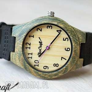 Damski drewniany zegarek LEAF WARBLER, zegarek, ekologiczny, drewniany, naturalny