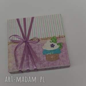 hand-made scrapbooking kartki kartka w pudełku urodziny