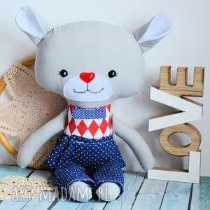 zabawki duży miś - tomuś 46 cm, miś, zabawka, maskotka, przytulanka, roczek