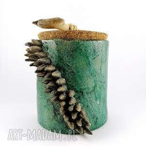 pojemnik ceramiczny, pojemnik, patera, prezent, miska, dekoracje, sztuka