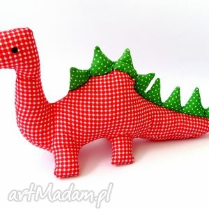 dinozaur, zabawka, przytulanka, bawełna, dziecko, handemade maskotki