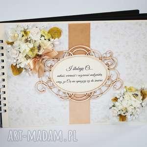 biala konwalia album na zdjęcia z kwiatami, album, zdjęcia, ślub, scrapbooking