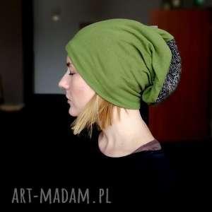 handmade czapki czapka damska męska unisex bawełna dzianina