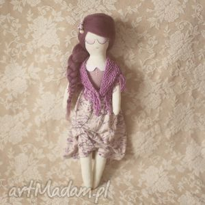 hand-made lalki różana bajka - lalka klara