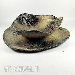 święta, patera ceramiczna natura, kichania, dekoracja, patera, prezent, sztuka