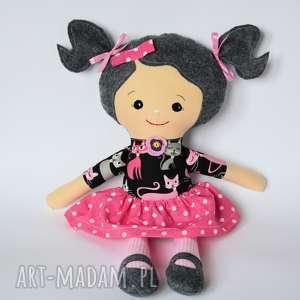 Lala Rojberka - Madzia 50 cm, lalka, dziewczynka, kotek, rojberka, urodziny