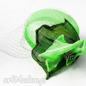 fascynatory zielony toczek, zielony, fascynator