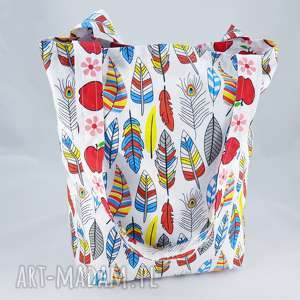 hand-made torba na zakupy bawełniana ecotorba