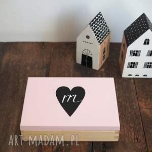 handmade pudełka personalizowane pudełko na zdjęcia 15x20cm lub format a5 - serce