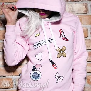 Prezent Bluza Milion Dollar Baby, naszywki, haft, wszywki, prezent, urodziny, modna