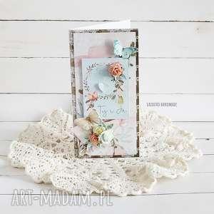 handmade scrapbooking kartki ty i ja, kartka ślubna w pudełku, 471