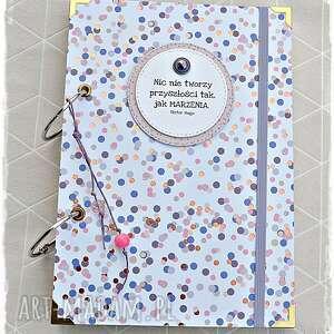 Niekończący się notatnik dla marzycielki scrapbooking notesy