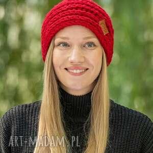pod choinkę prezent, czapki this is it czerwony dywan, czapka, zimowa, wełniana