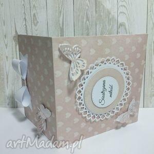 motylkowe etui w różu , zaproszenie, motyl, etui, zdjęcie, cd