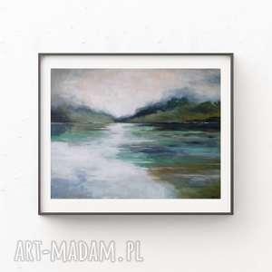 Pejzaż-obraz akrylowy formatu 40 30 cm paulina lebida obraz