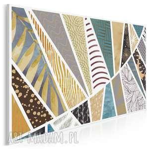 vaku dsgn obraz na płótnie - wzory patterny desenie 120x80 cm 93901, wzór