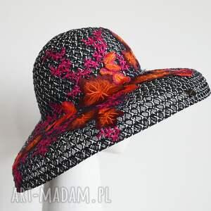 handmade czapki kapelusz audrey