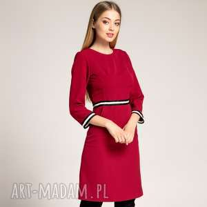 Sukienka Patrizia Sport Czerwień Malinowa, sportowa-sukienka, sukienka-do-pracy