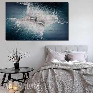 Obraz XXL POCAŁUNEK 1 - 120x70cm design na płótnie, obraz, pocałunek, ludzie, para