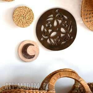 ceramiczny księżyc, ceramiczny, ksiezyc, gwiazda, kamien, słonce
