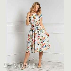 Sukienka marie midi jackline sukienki livia clue midi, na lato