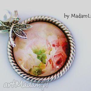 ´romantyczny ogród´ naszyjnik w stylu vintage madamlili